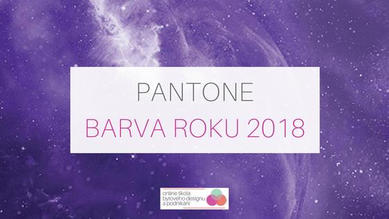 Pantone barva roku 2018