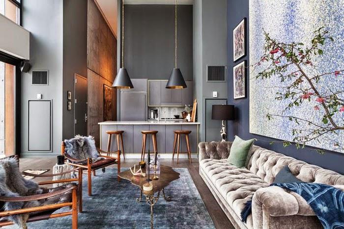 Krásný loft, ve kterém můžete při návštěvě New Yorku opravdu bydlet