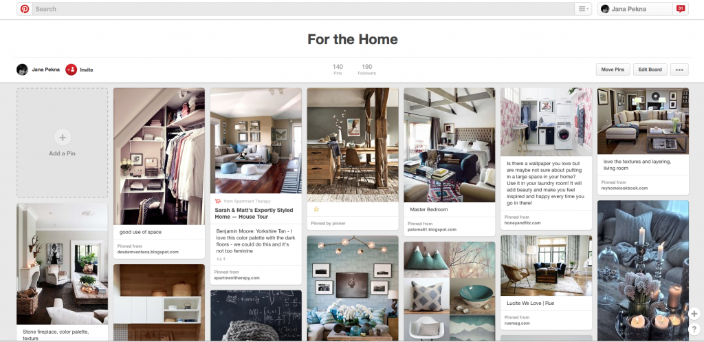 Pinterest-nastenka-home