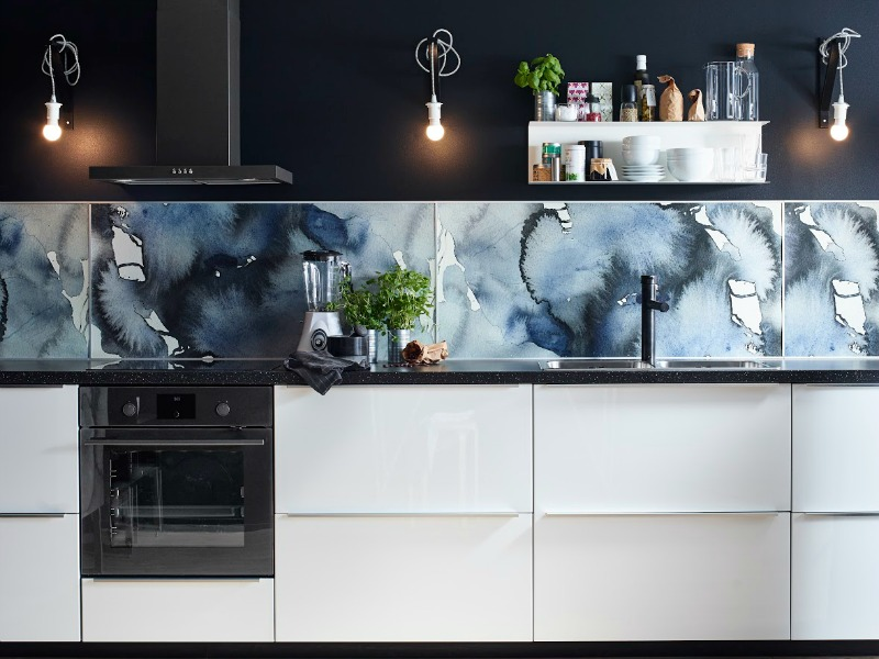 KALVIA-Range-IKEA-watercolour-splashback-pattern