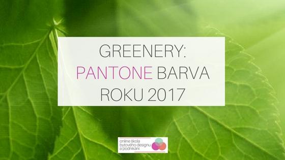 Pantone barva roku 2017