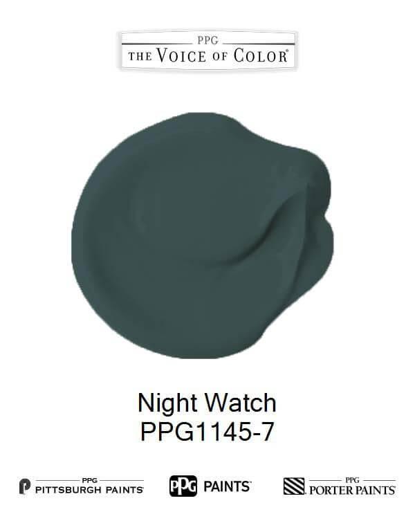 PPG barva roku 2019: Night Watch