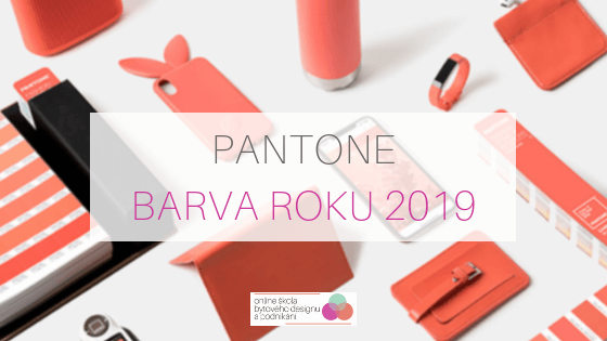 Barva roku 2019 Pantone Living Coral