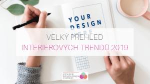 interierove trendy 2019