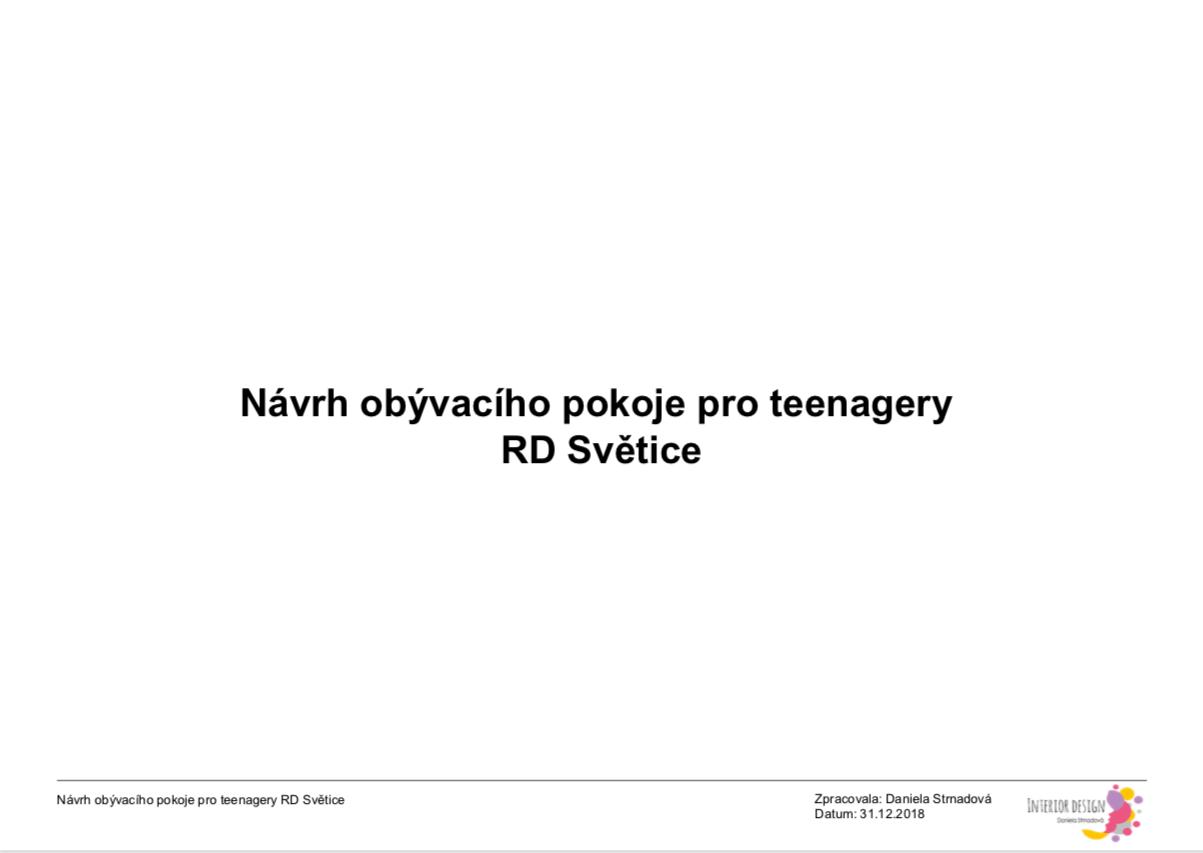 Navrh pokoje pro teenagery