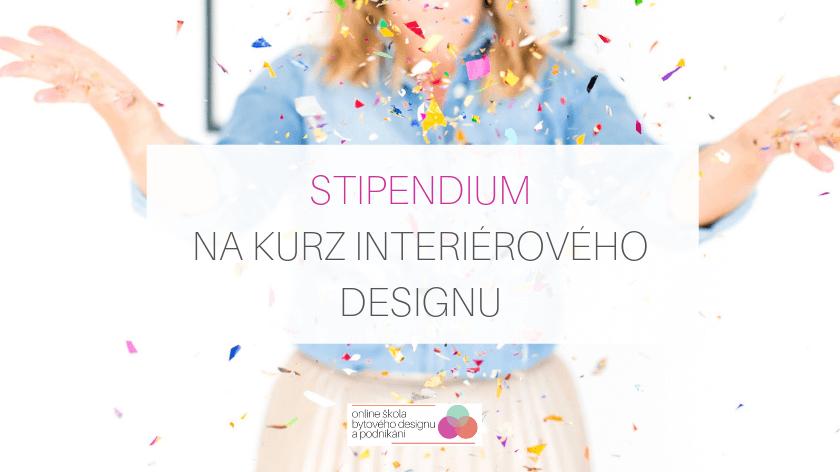 Stipendium na kurz Základy interiérového designu