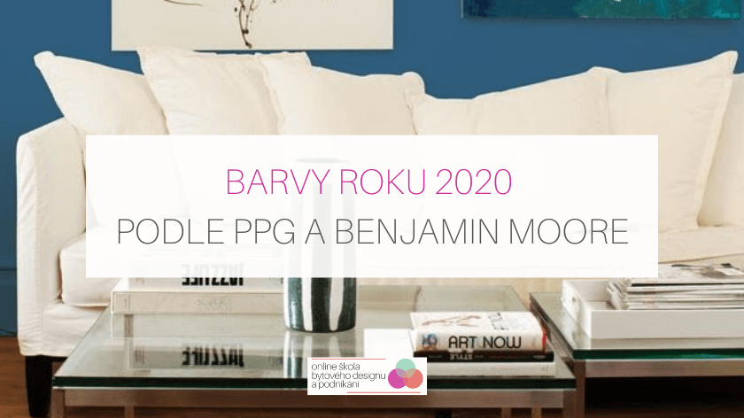 Barvy roku 2020 podle PPG a Benjamin Moore