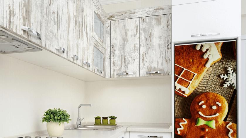 Nálepky na ledničku – změňte svůj dům na Vánoce!
