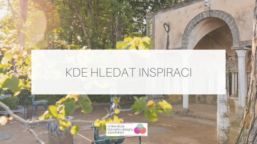 Kde hledat inspiraci