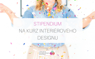 Stipendium na kurz interiérového designu 2021