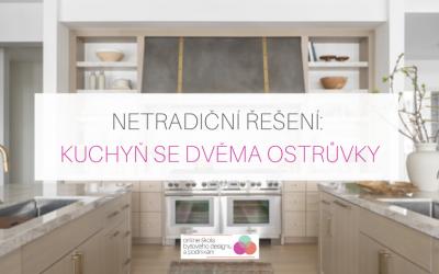 Netradiční řešení: Kuchyň se dvěma ostrůvky