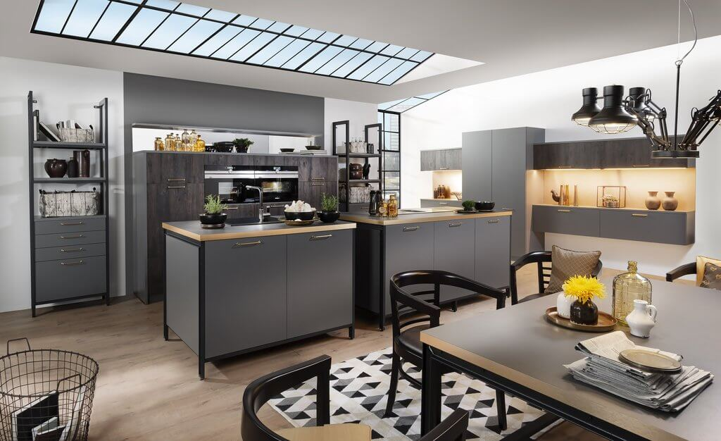 netradiční řešení, kuchyně se dvěma ostrůvky, kuchyň, Jana Pěkná, Interiérový design, blog, škola interiérového designu, nevhodné řešení, jak to nedělat,